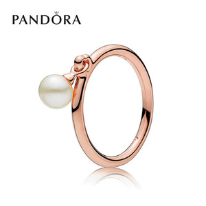 [PANDORA] 판도라 반지 Contemporary Pearl Ring 187525P