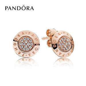 [PANDORA] 판도라 귀걸이 Signature Stud Earrings 280559CZ