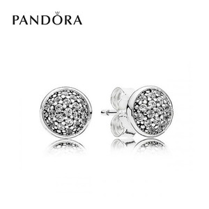 [PANDORA] 판도라 귀걸이 Pave Stud Earrings 290726CZ