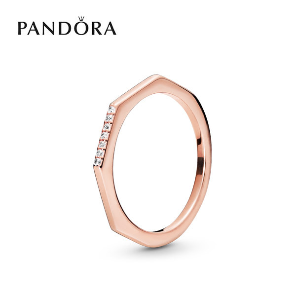 [PANDORA] 판도라 반지 Multifaceted Ring 188343CZ